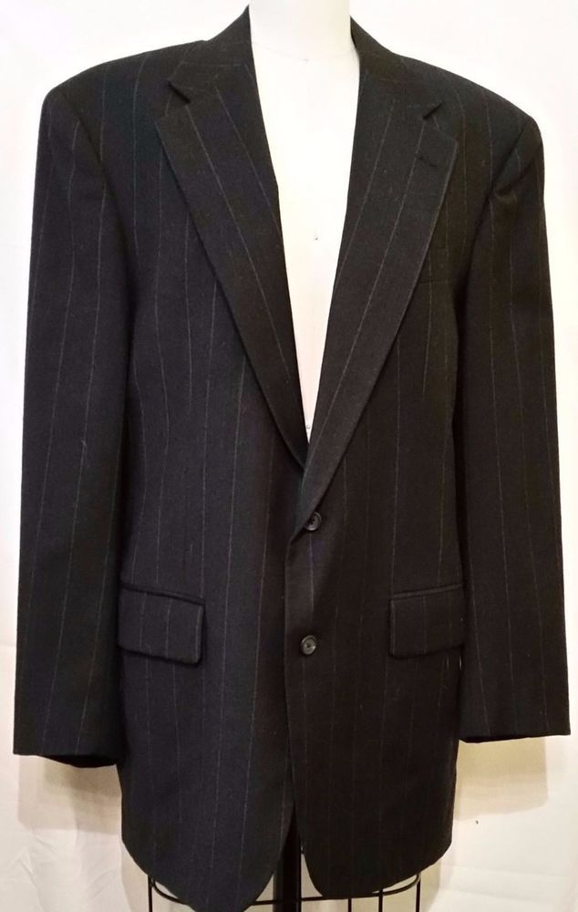 Polo University Club by Ralph Lauren 2 Button Jacket Sport Coat Blazer Sz 42R #PoloRalphLauren #TwoButton