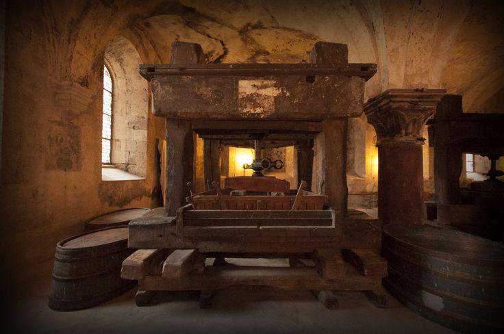 Kloster #Eberbach #Wine Press