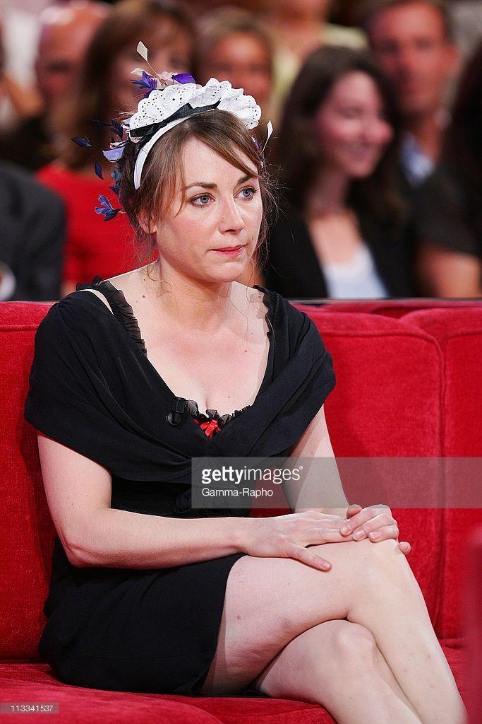 'Vivement Dimanche' Tv Show In Paris, France On September 03, 2008 - Julie Depardieu.