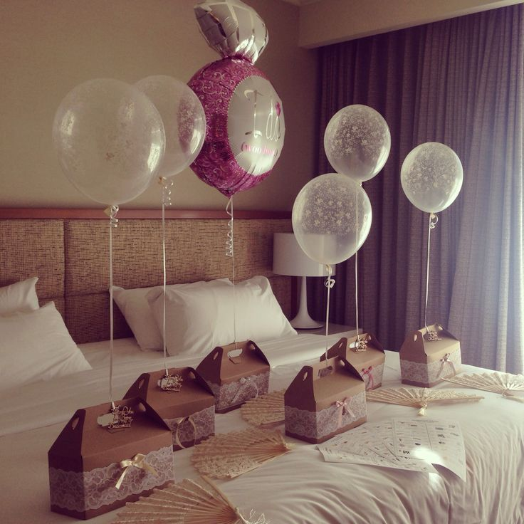 Gifts for the bridesmaids