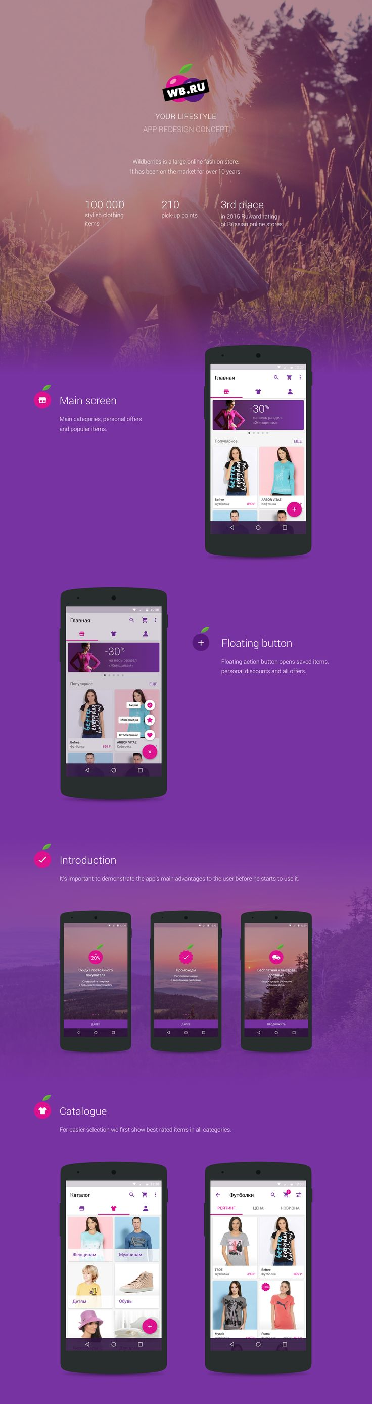 Wildberries App Redesign Concept on Behance