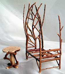 Twig Fairy Furniture | FAIRY-ISH: fairy furniture: fantastic finds