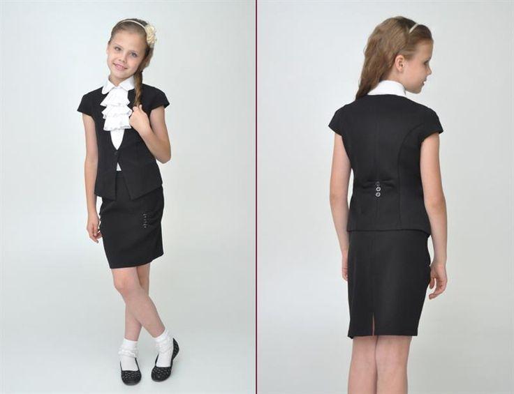 Жакеты и костюмы для девочек