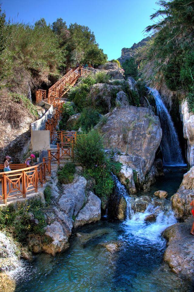 SPAIN / Cities, towns, landscapes - Las Fuentes del Algar, Alicante, Spain