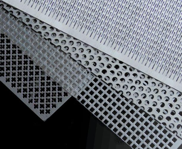 Lapos termékek Perforált lemez Rozsdamentes