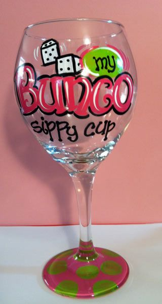 Bunco Sippy Cup! UMMM YES PLEASE!! I may just have to make me one of these!! Who is with me?!!