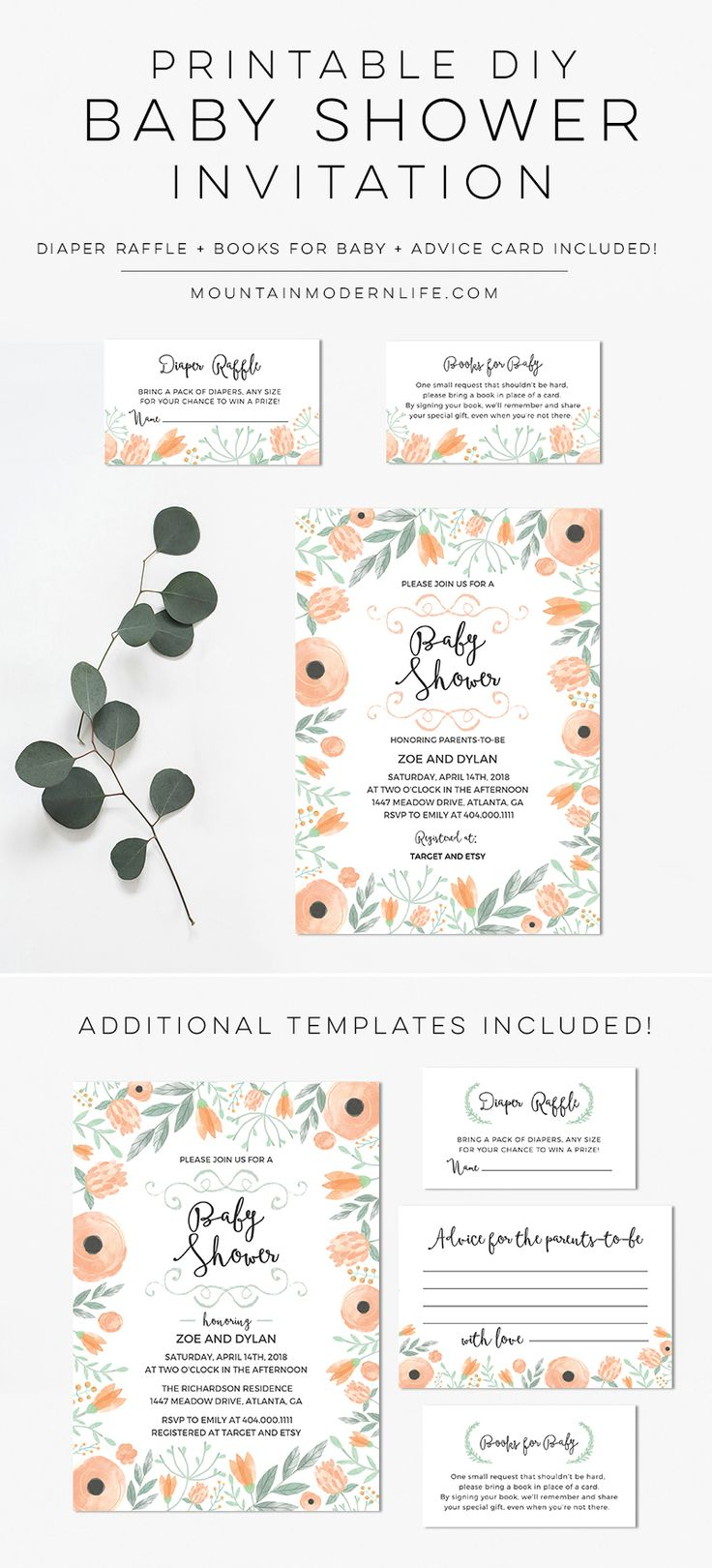 57 Best Diy Wedding Invitations Images On Pinterest Rustic