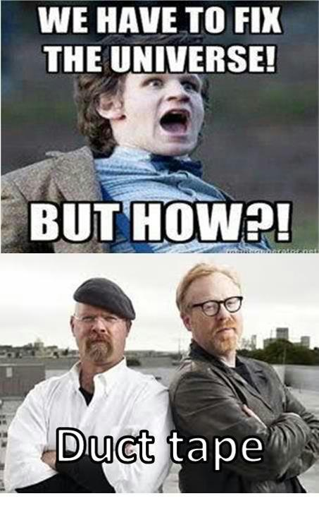 Damn right! #mythbusterstyle