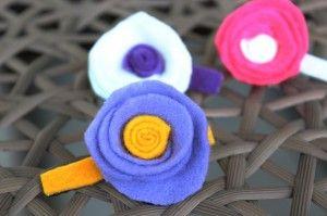 Paso a paso flores para el cabello #BlogdeBabyCenter