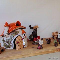 Steffis Wichtelwelt - Keramik für Haus und Garten