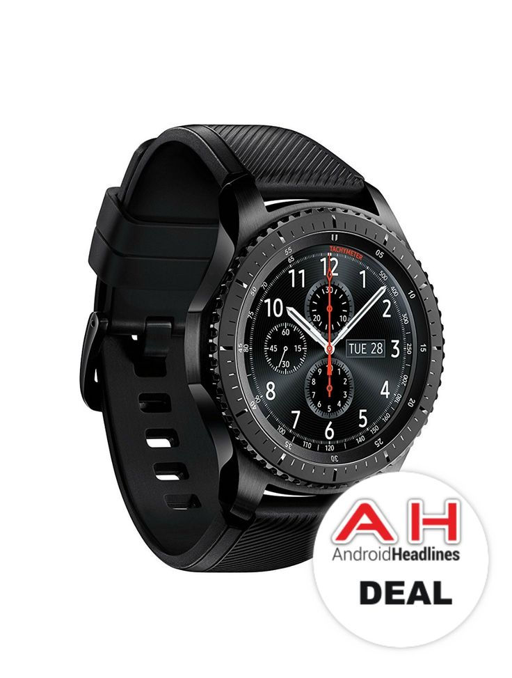Pick Up the Samsung Gear S3 Frontier for $329 – 4/7/17 #Android #Google #news