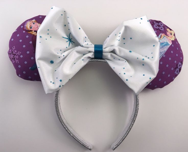 Sisters Forever Mickey Ears! ❤️❤️❤️ https://www.etsy.com/listing/478326870/frozen-sisters-forever-inspired-minnie