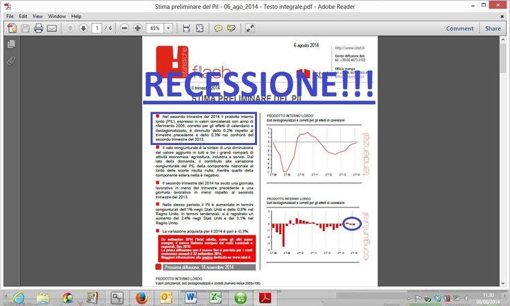 #Renzi non ha paura dei #mercati che reagiscono in ritardo…l' #italiano medio ha paura della #recessione e della #povertà che si avvicina sempre più. Quando si toccherà il fondo della #crisi ? Sarà sempre #Draghi a salvarci? Intanto l' #Istat ci condanna…