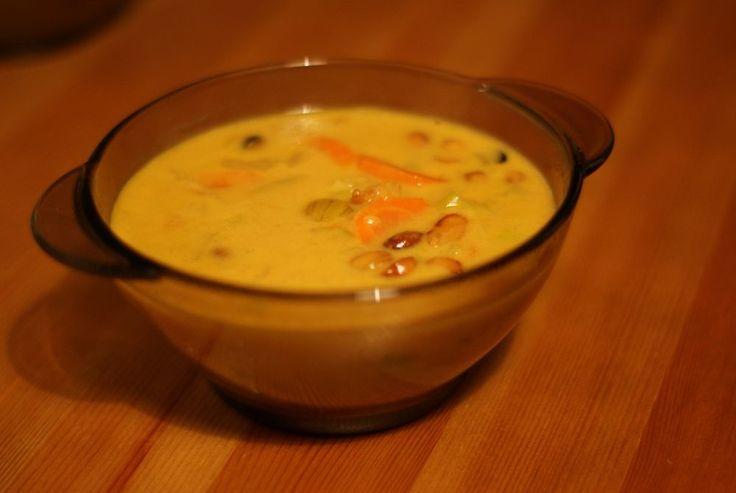Afrykańska zupa orzechowa