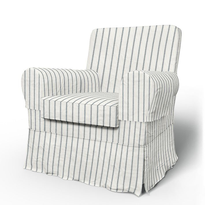 Jennylund, Armchair Covers, Armchair, Loose Fit Country using the fabric Brera Fino Cloud