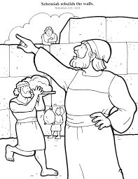 17 best images about sunday school colouring 3 on for Nehemiah coloring page