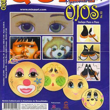 Quili Ojos N°3 - Paso a paso para pintar ojos