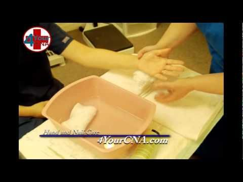 Provide Hand and Nail Care to One Hand