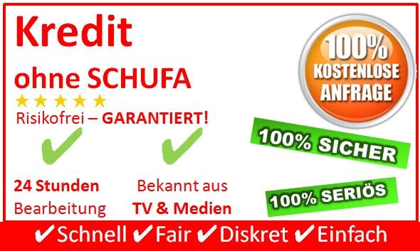 Mit dem Kredit ohne Schufa von SchweizerKredit24.de haben Sie die ideale Lösung gewählt wenn es um eine geeignete Finanzielle Lösunungsoption geht bei der keine SCHUFA-Daten relevant sind.