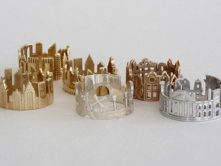 Architecture Rings that Focus on City Skylines - Design Milk