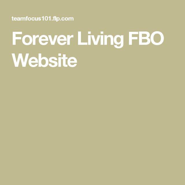 Forever Living FBO Website