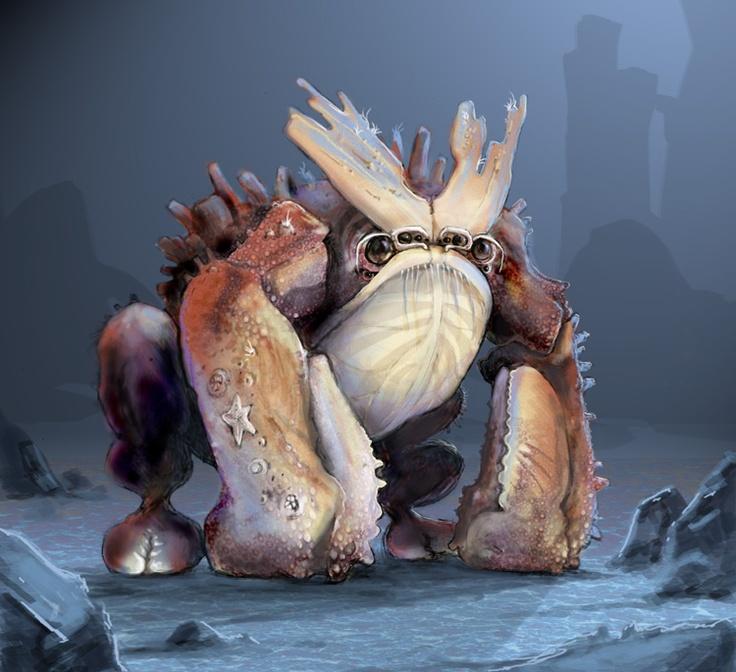 Frog Crab - creature concept