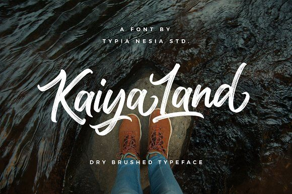 Kaiya Land by Typia Nesia on @creativemarket