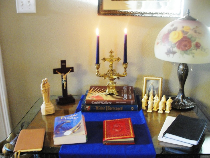 129 Best Images About Altars For The Home- Ideas On