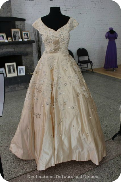 Wedding Dress View Into The Past: Norman Hartnell 1953 design
