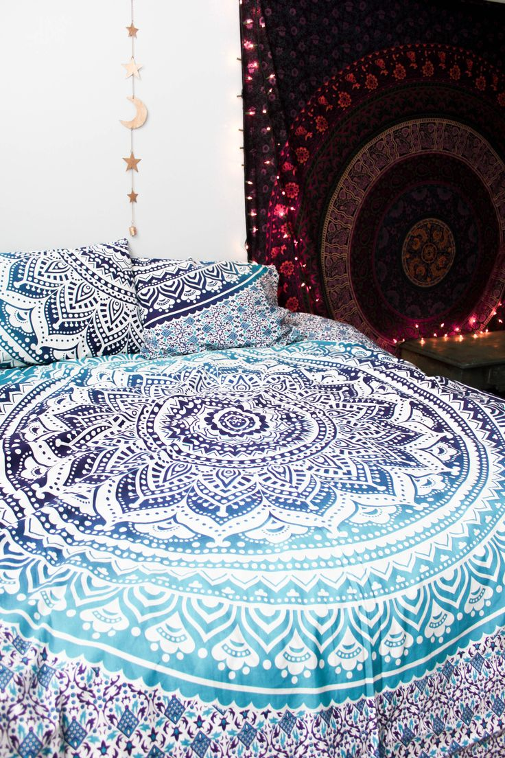 Lady Scorpio Mandala Duvet Covers