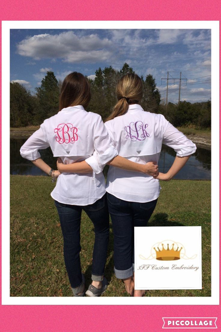 A personal favorite from my Etsy shop https://www.etsy.com/listing/170980157/monogrammed-columbia-ladies-bahama-pfg