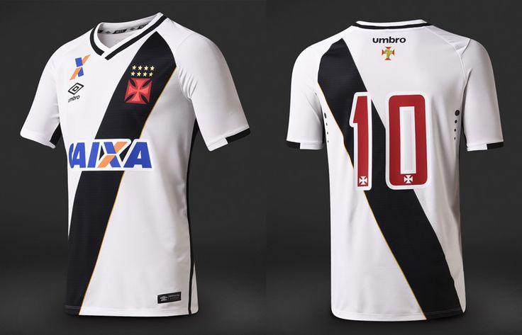 Camisas do Vasco da Gama 2016-2017 Umbro Branca