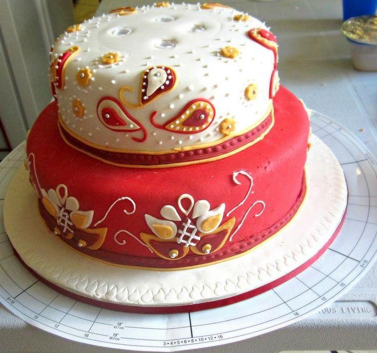 Beautiful Indian Wedding Cakes