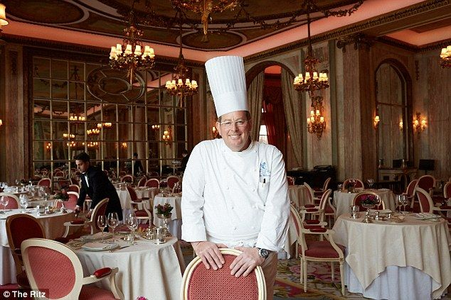 2/27/16.    Top chef: John Williams has been Head Chef at The Ritz for the past eleven years - he has been a chef for 40