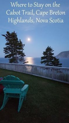 Where to Stay on the Cabot Trail, Nova Scotia