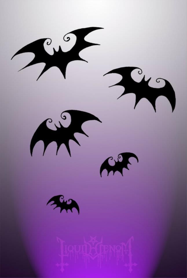 Nightmare Before Christmas Bats <3 Could do something very fun with these...