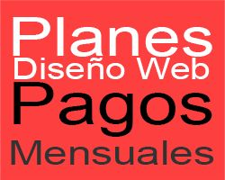 Sitios Web Pagos Mensuales! / Con Sistema Autoadministrable!