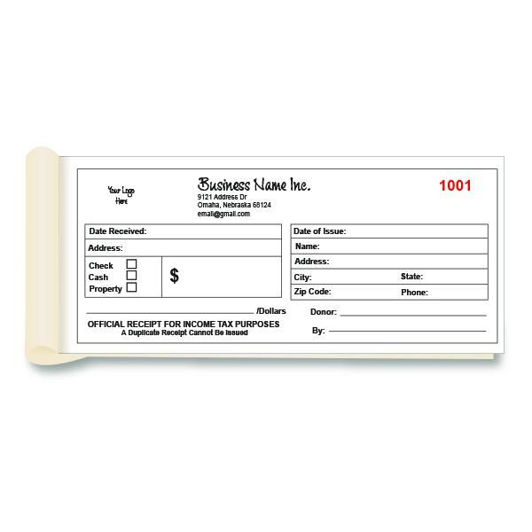 Funeral Donation Receipt Printing Custom Non Profit Receipts Invoice Template Funeral Home Funeral