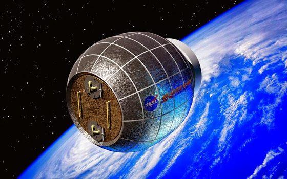 Το πρώτο φουσκωτό διαστημικό διαμέρισμα...