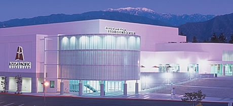 The Felix Event Center on West Campus houses basketball courts, the Hall of Champions, dining venues, and more.