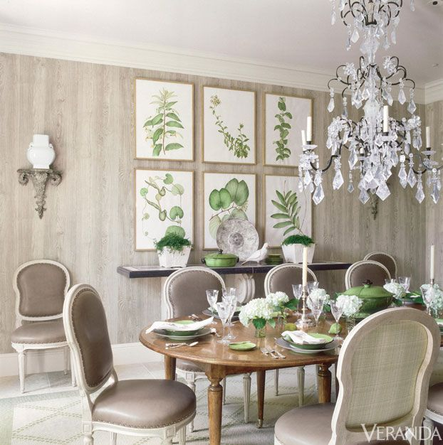 overall style inspiration kelly green plus neutrals plus white kelly green dining room accents and rock crystal french chandelier veranda love this
