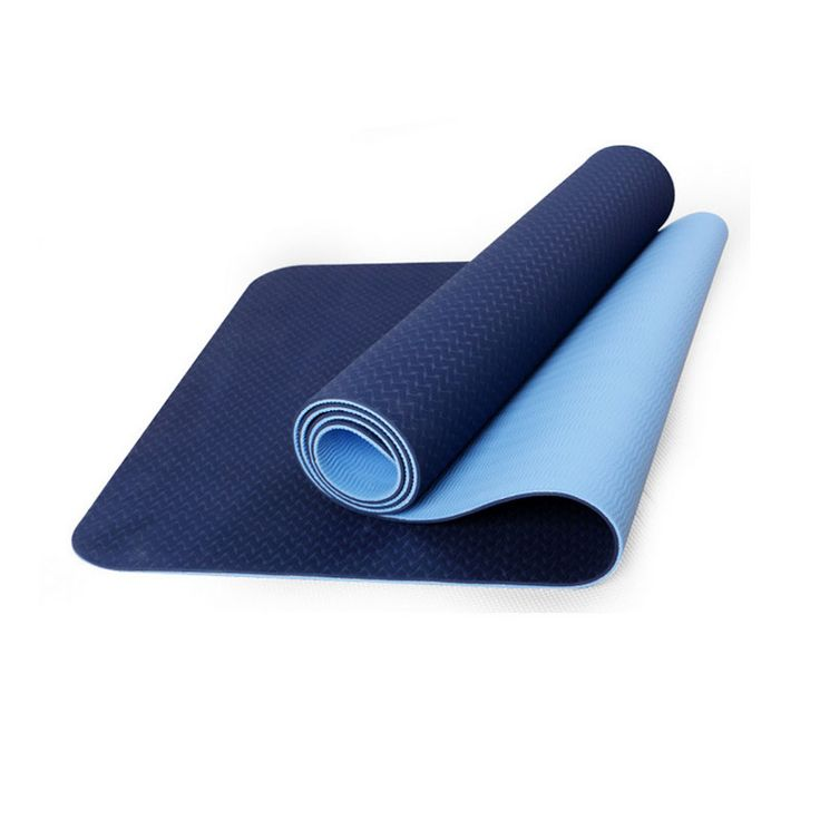 Mata do jogi TPE tapete Gruby non-slip Gym fitness kulturystyka fitness gimnastyka esterilla Pilates Ćwiczenia jogi maty 183*61*6mm