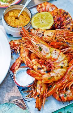 Vivek Singh's barbecued prawn recipe takes inspiration from the tandoor, an Indian clay oven, which imparts charcoal-like flavours.