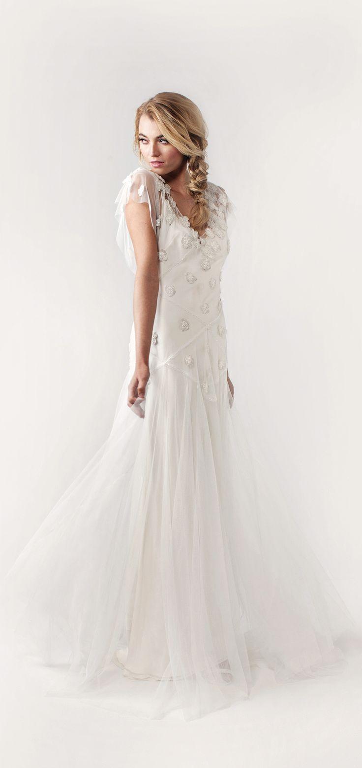 93 best sarah janks images on pinterest wedding dressses bridal fleur pkimono sleeves and shimmering appliqu flowers frame sj527s ombrellifo Gallery