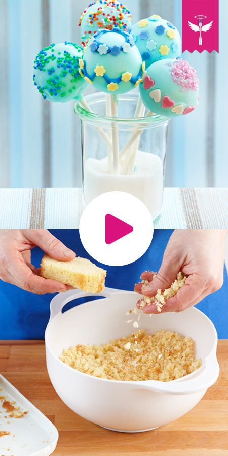 Cake Pops basic recipe – so succeed the cake on a stick