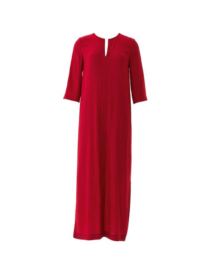 Платье-кафтан - выкройка № 108 B из журнала 4/2016 Burda – выкройки платьев на Burdastyle.ru