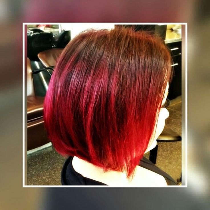 Polkka on pop! #Bob hairstyle #redhair #tukkatalo