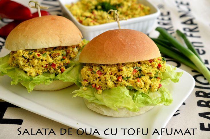 Salata de oua cu tofu afumat - Retete culinare by Teo's Kitchen