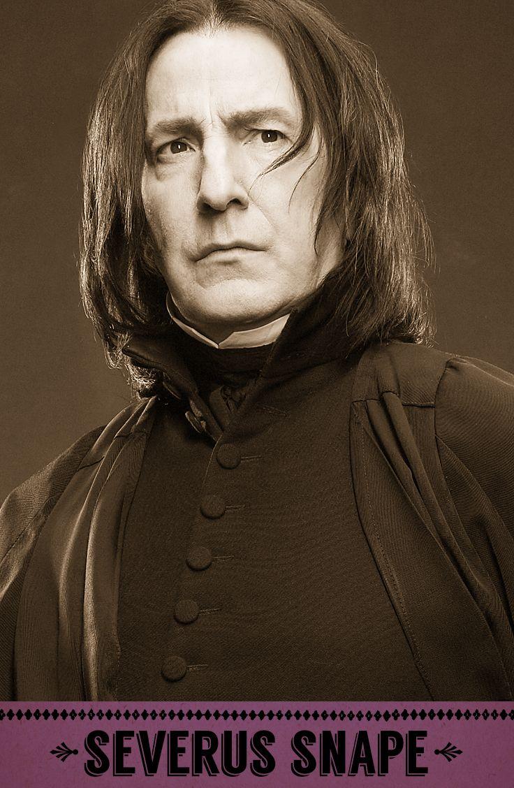Severus Snape, Potions professor, Defence Against the Dark Arts professor, Head…
