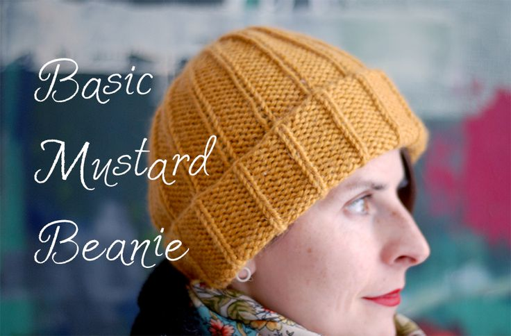 Knitting Pattern For Basic Beanie : 17 Best images about Knitting Ideas&Patterns on Pinterest Free pattern,...
